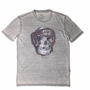 Lucky Brand Venice Burnout Graphic Tee